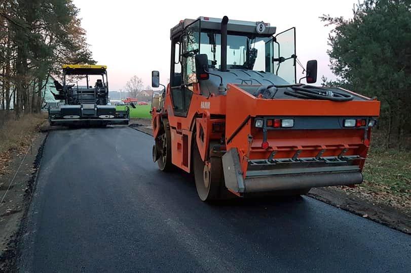 Budowa drogi [fot. Marcin Wycisło]