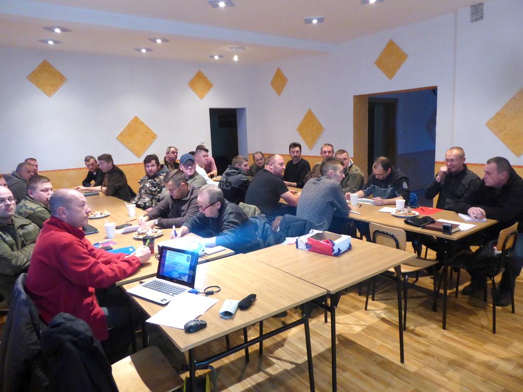 Szkolenie dla Społecznej Straży Rybackiej w Kępie [fot. Witold Wośtak]