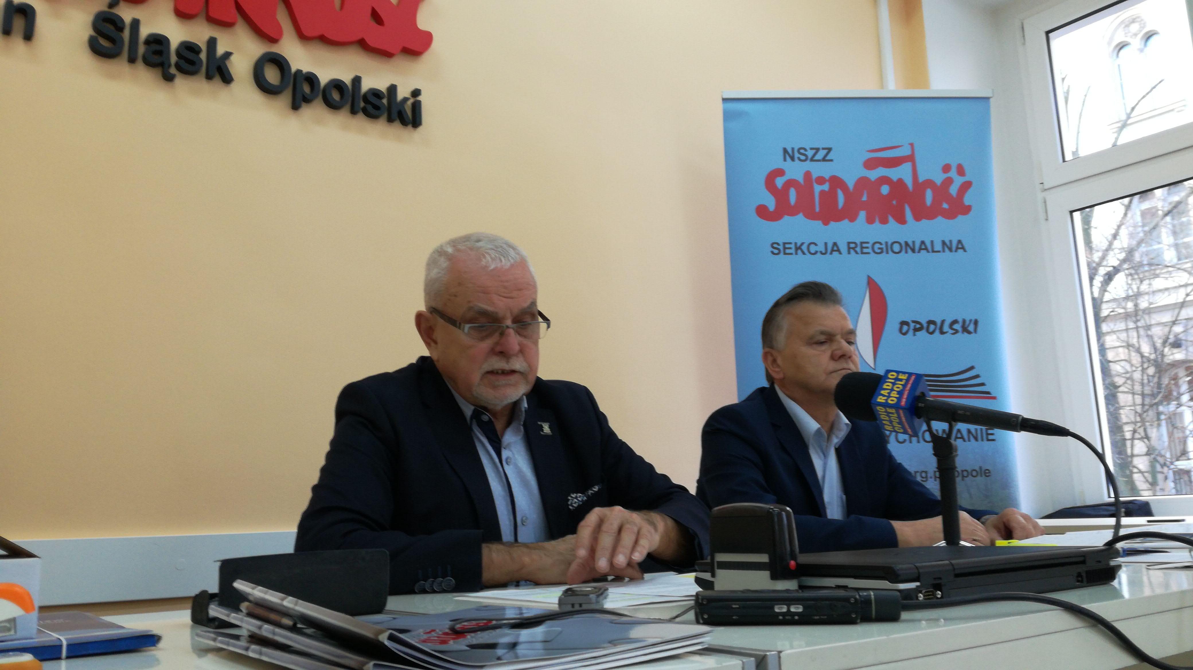 Solidarność w Opolu nie ufa już minister edukacji