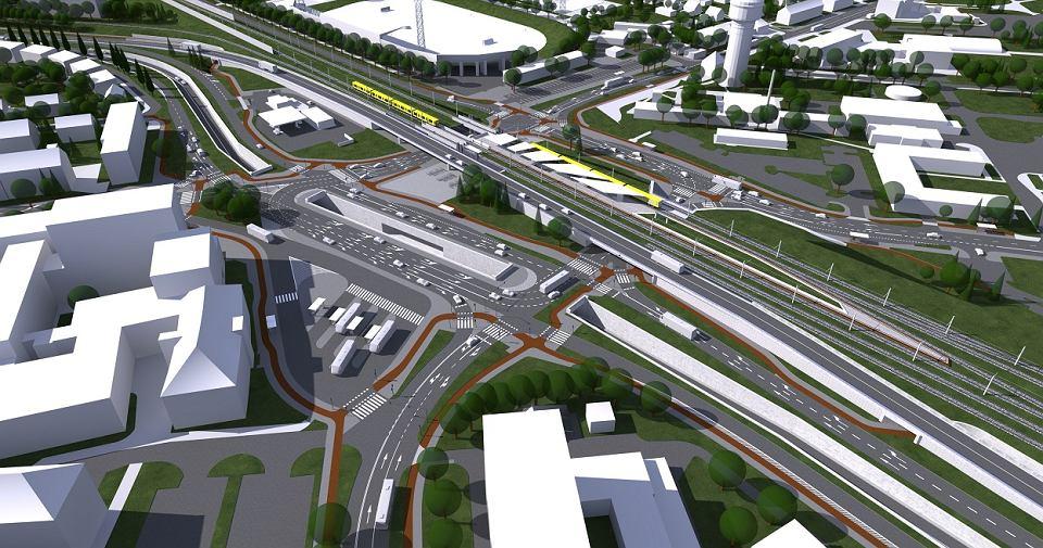 Będą kolejne utrudnienia w rejonie dworca Opole Wschodnie. Zmiany dla kierowców i pieszych
