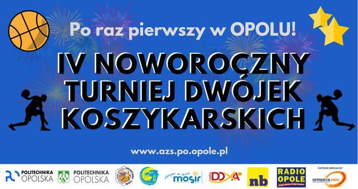 IV Noworoczny Turniej Dwójek Koszykarskich odbędzie się 21 stycznia w hali przy ul. Małopolskiej 22 w Opolu [fot. https://pixabay.com/pl]