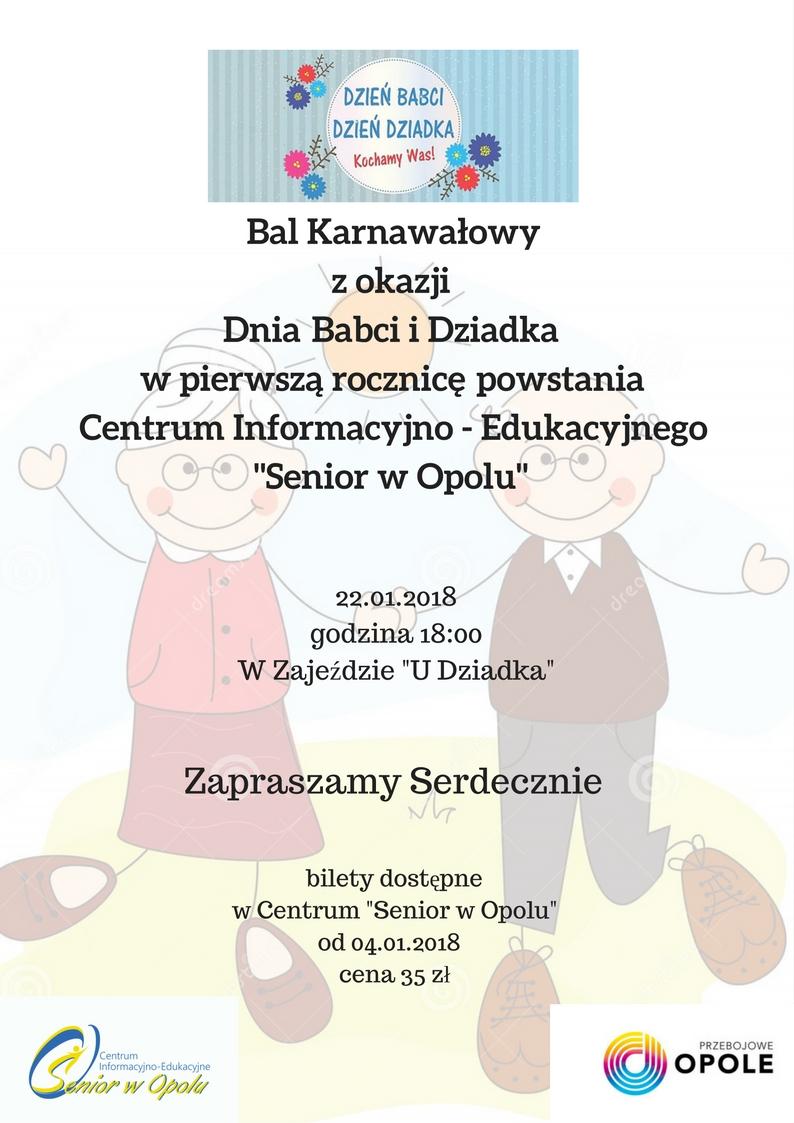 Dzień Dziadka i Babci w pierwszą rocznicę powstania Centrum Informacyjno - Edukacyjnego Senior w Opolu (5)