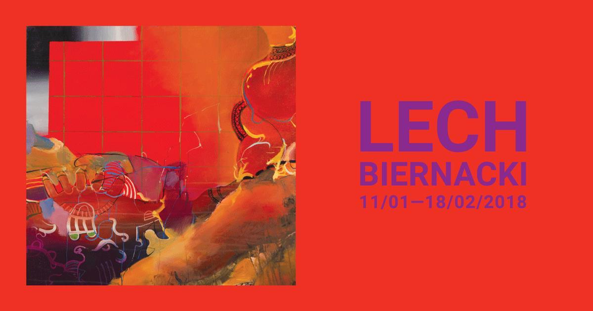 Kolor i ekspresja w GSW – obejrzyj wystawę Lecha Biernackiego