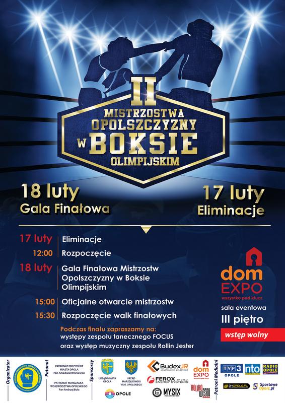 Mistrzostwa Opolszczyzny w Boksie Olimpijskim już w weekend w domEXPO