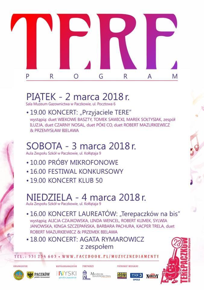 TerePaczków od piątku do niedzieli. Zobacz, kto wystąpi. Radio Opole będzie na miejscu