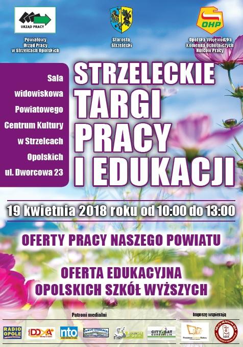 Strzeleckie Targi Pracy i Edukacji już w czwartek (19.04)