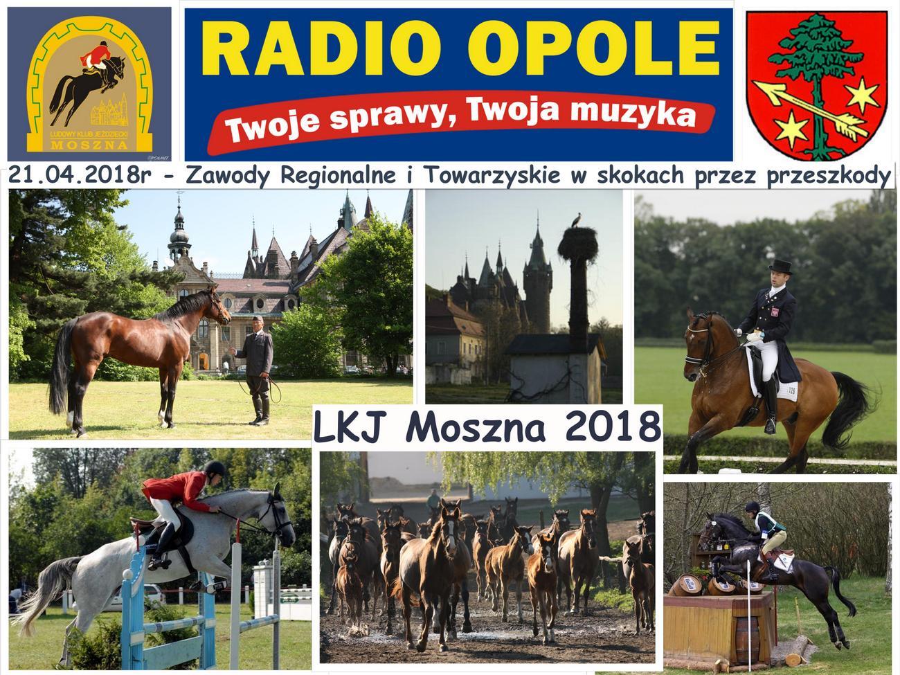 Zawody jeździeckie w Mosznej 2018 [materiały organizatora]