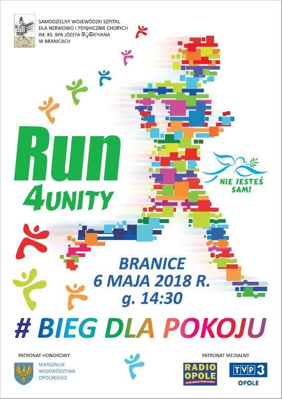 Branice dołączają do międzynarodowej akcji Run4unity