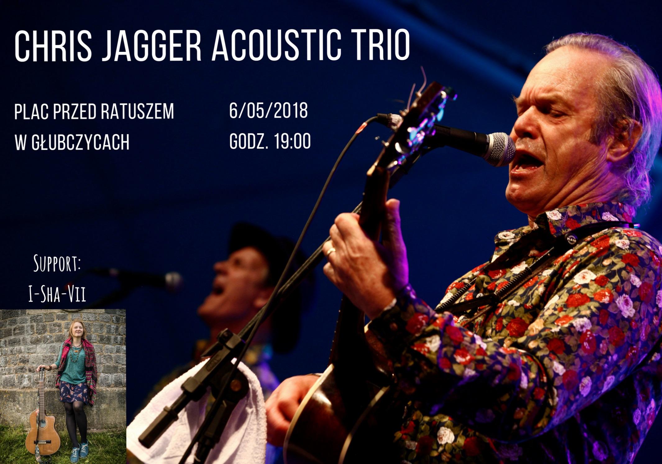Trio Chrisa Jaggera zagra na Opolszczyźnie dwa koncerty!