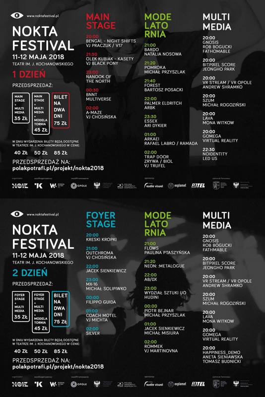 II Nokta Festival od piątku do soboty w Opolu - zobacz program