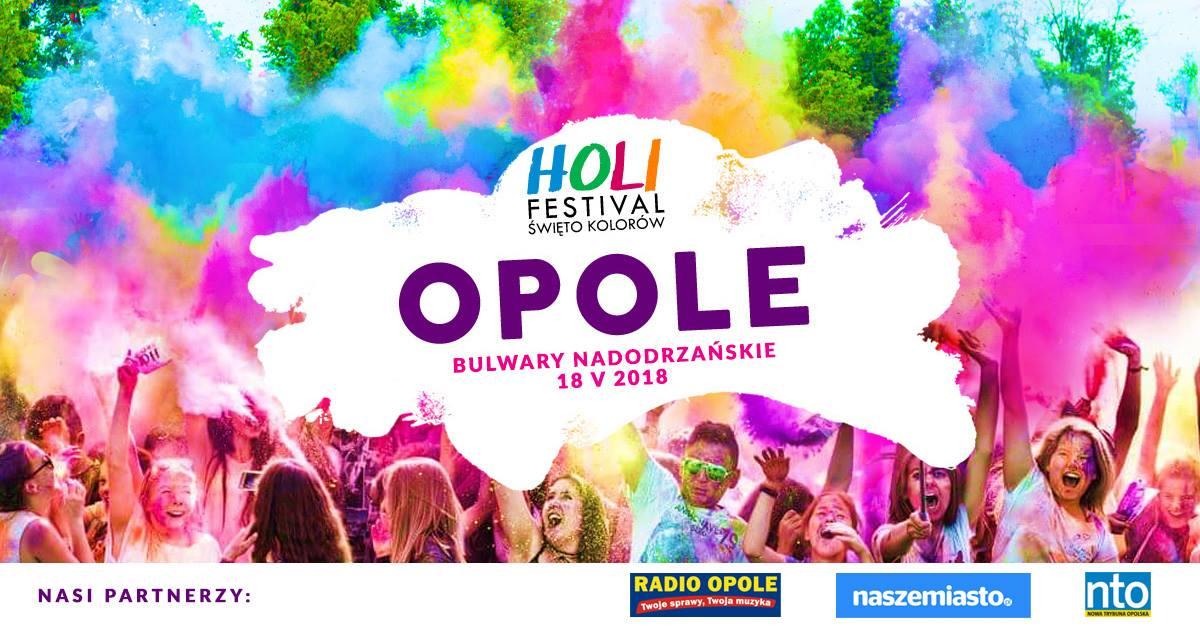 Holi Festival Święto Kolorów w Opolu [materiały organizatora]