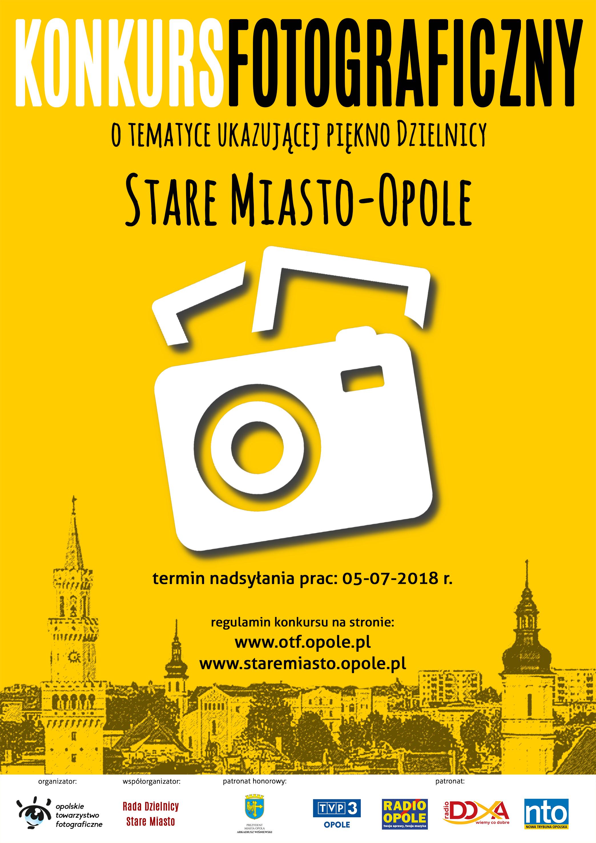 Stare Miasto-Opole czeka na zdjęcia - jeszcze do 5 lipca można wziąć udział w konkursie