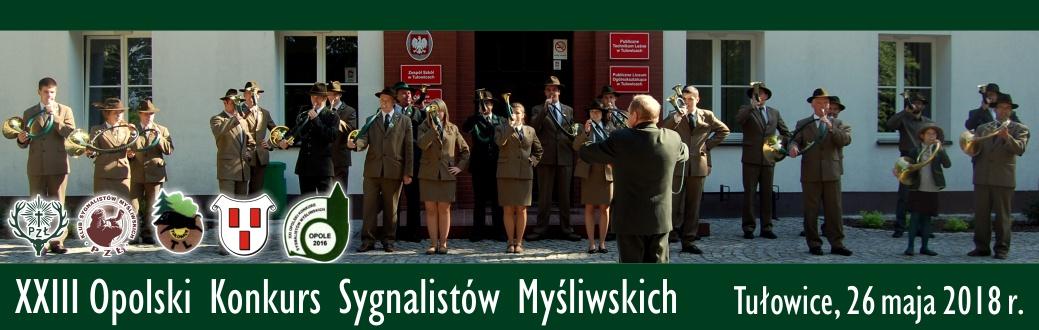 XXIII Opolski Konkurs Sygnalistów Myśliwskich Tułowice 2018