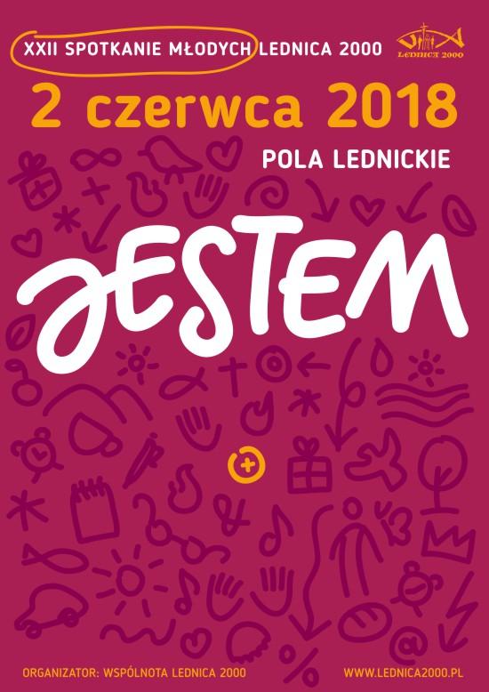"""""""Jestem"""" – XXII Spotkanie Młodych LEDNICA 2000 już 2 czerwca! [materiały organizatora]"""