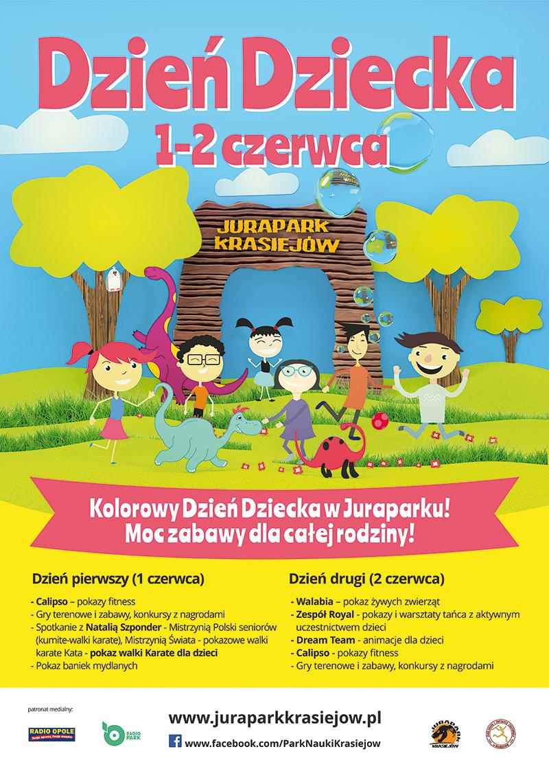 Spędź Dzień Dziecka w JuraParku w Krasiejowie