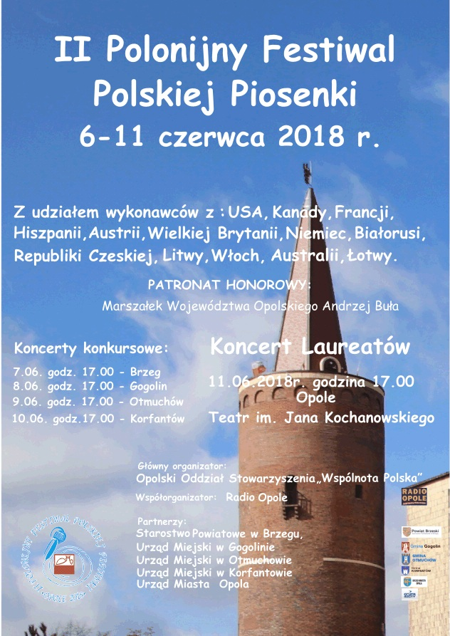 Rusza II Polonijny Festiwal Polskiej Piosenki. Finałowy koncert będziemy transmitować!