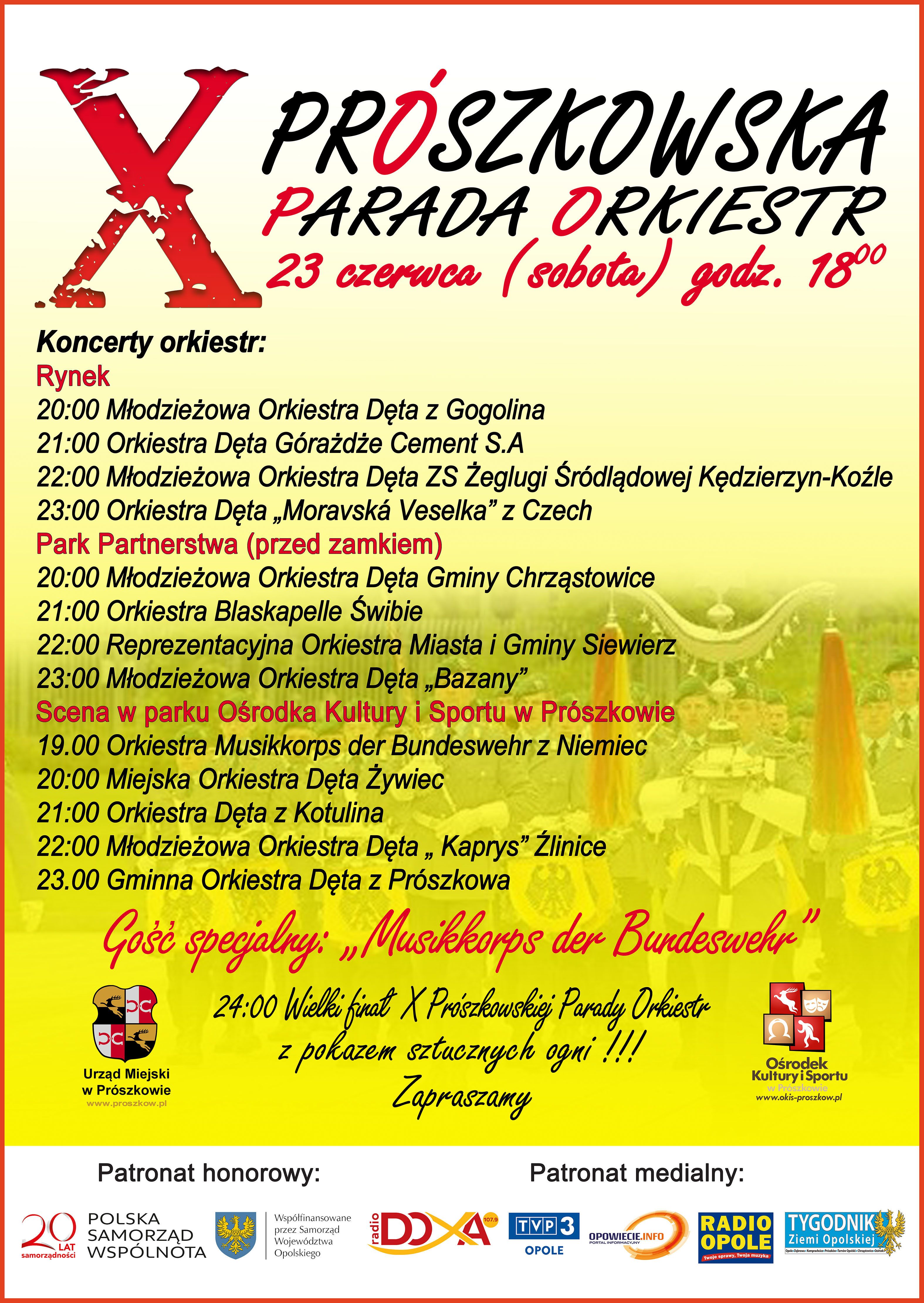 X Prószkowska Parada Orkiestr