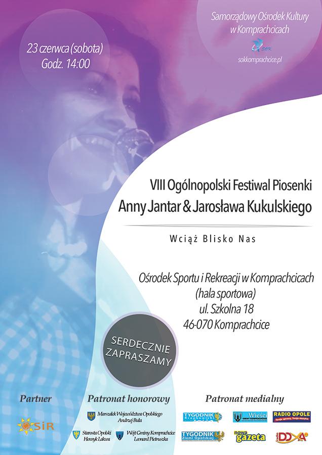 Piosenki Anny Jantar zabrzmią w sobotę (23.06) w Komprachcicach
