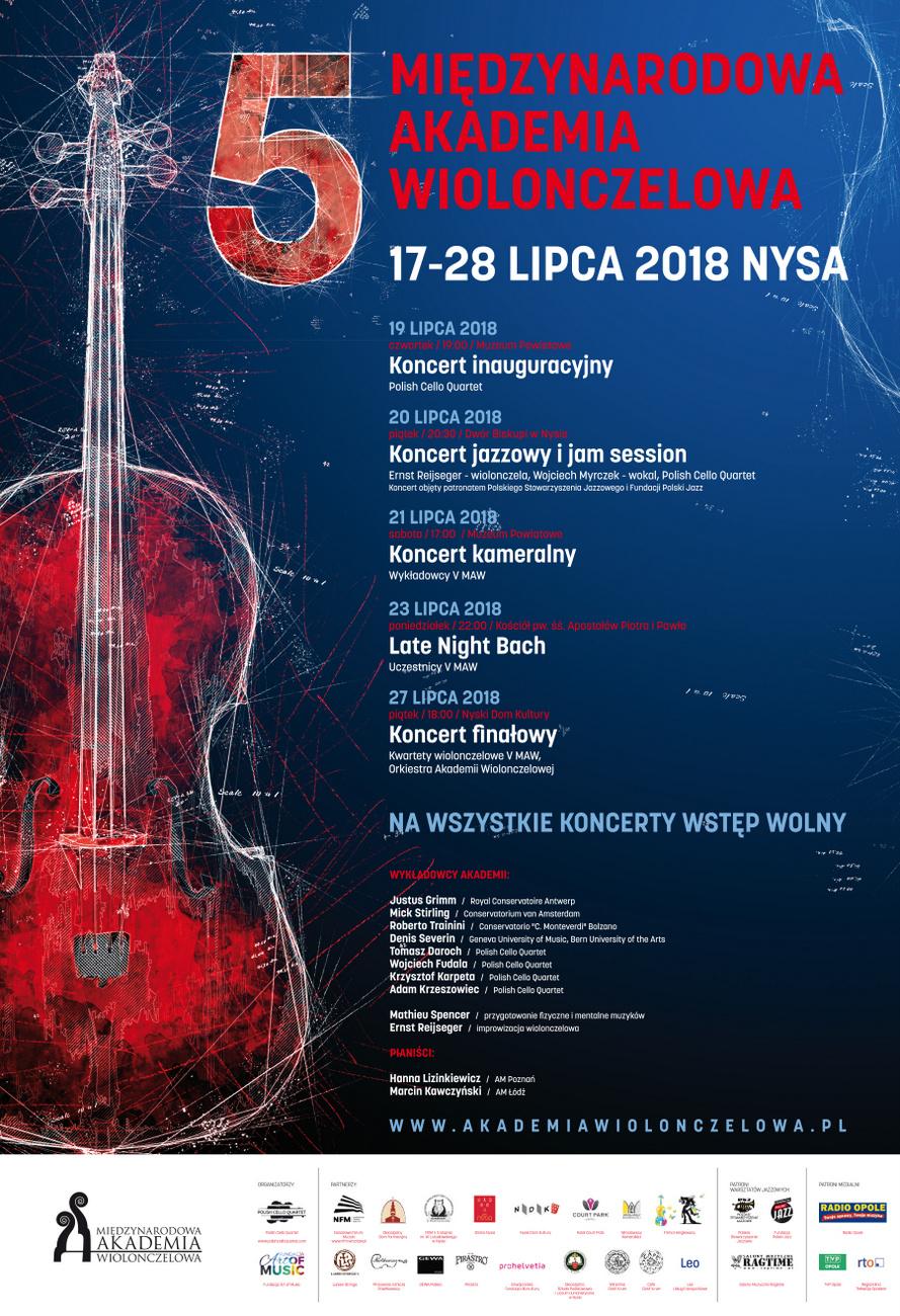 Zbliża się 5. Międzynarodowa Akademia Wiolonczelowa – poznaj program koncertów! [materiały organizatora]