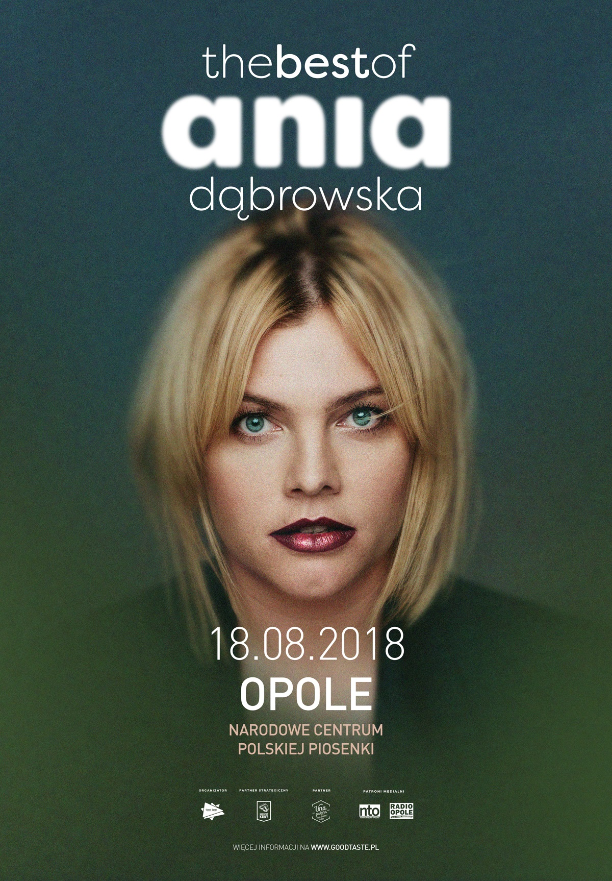 Ania Dąbrowska wystąpi w Opolu 18 sierpnia – poznaj szczegóły! [materiały organizatora]