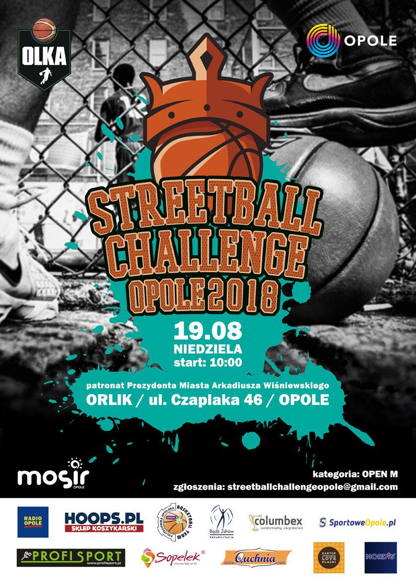 Rozgrywki koszykówki ulicznej w Opolu już w niedzielę