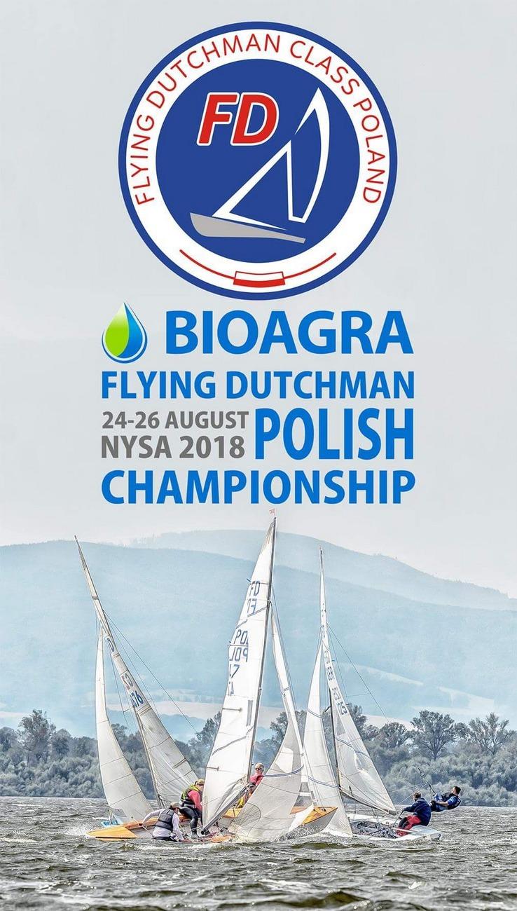 Bioagra Mistrzostwa Polski w klasie Latający Holender nad Jeziorem Nyskim już w weekend