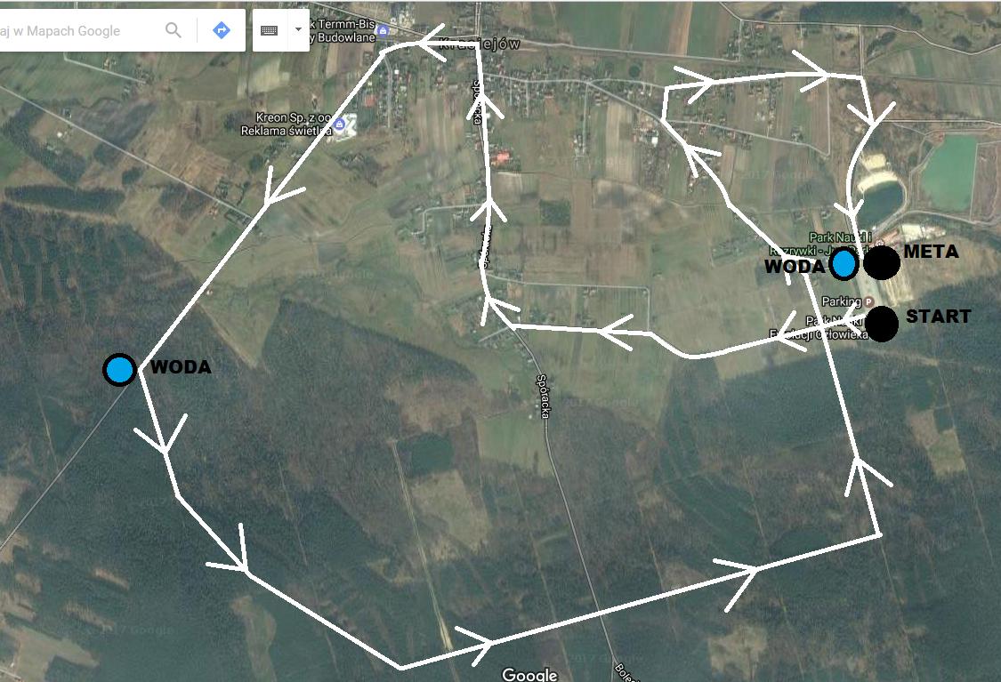 Trasa biegu JuraRun