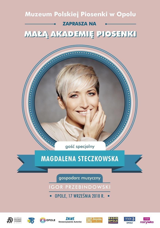 Gościem Małej Akademi Piosenki 17 września będzie Magda Steczkowska