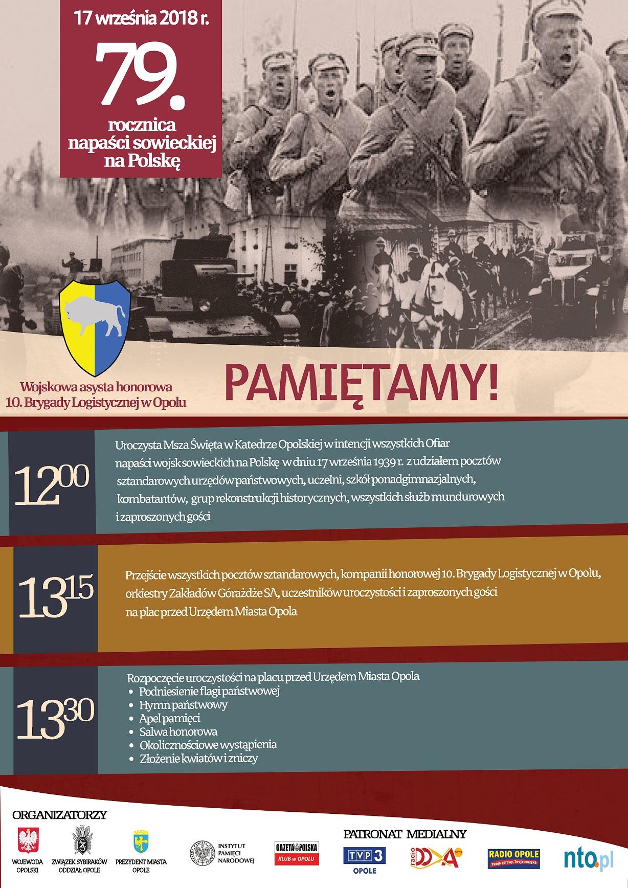 79. rocznica napaści sowieckiej na Polskę