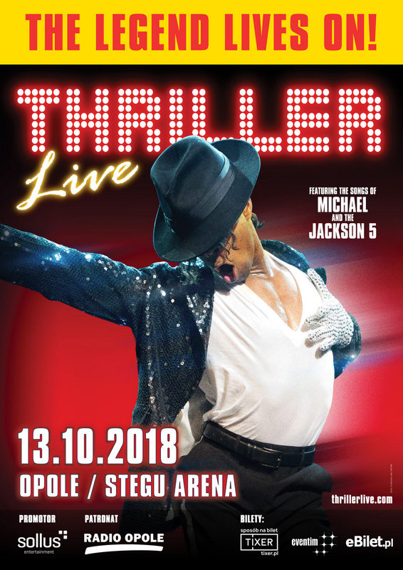 """Największe przeboje Michaela Jacksona, czyli spektakl """"Thriller Live!"""" już wkrótce w Opolu"""