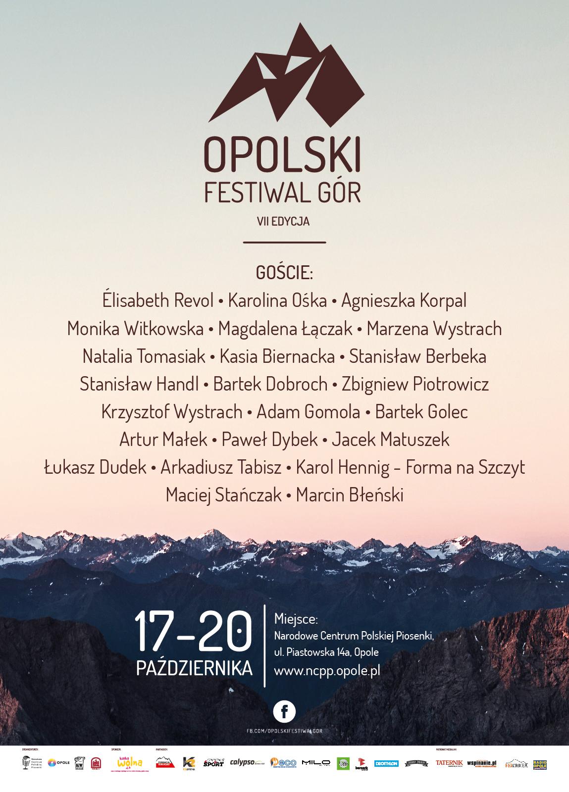 Opolski festiwal gor plakat