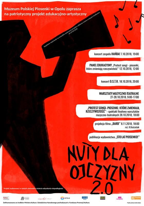 """Hańba! zagra w niedzielę w Muzeum Polskiej Piosenki. Koncert zainauguruje cykl wydarzeń """"Nuty dla Ojczyzny 2.0"""""""