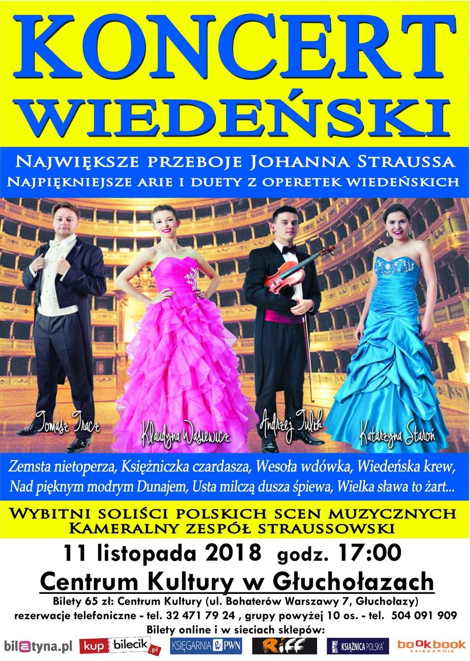 Koncert Wiedeński w Głuchołazach już 11 listopada – poznaj szczegóły! [materiały organizatora]