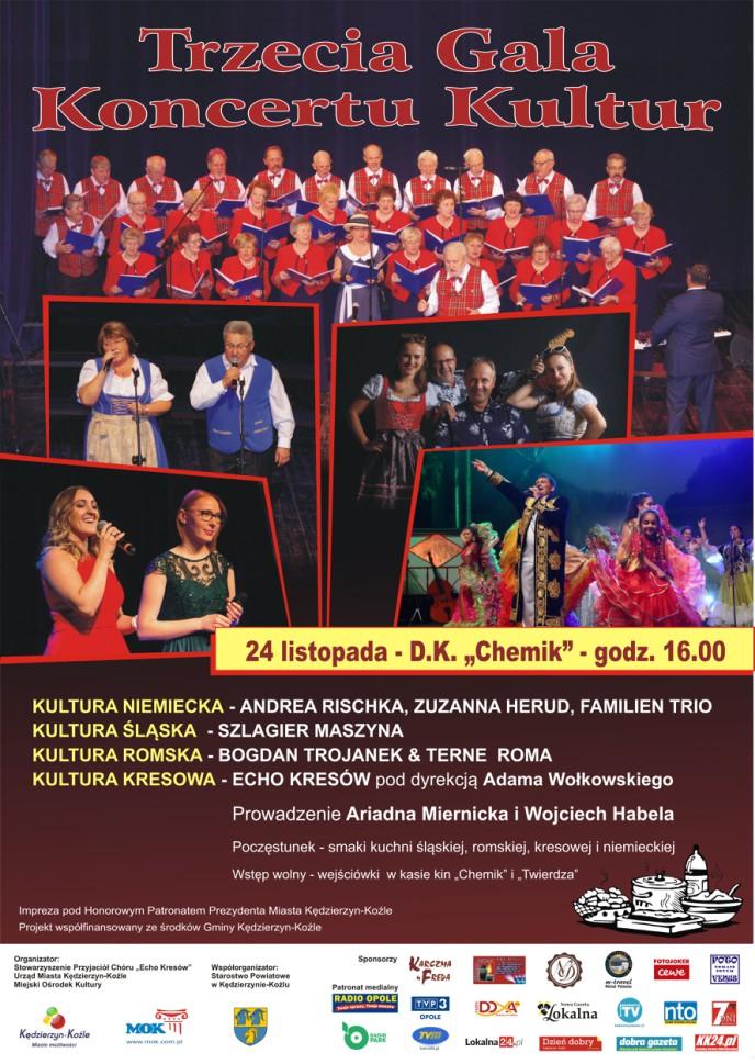 Cztery kultury spotkają się na jednej scenie – zbliża się Trzecia Gala Koncertu Kultur! [materiały organizatora]