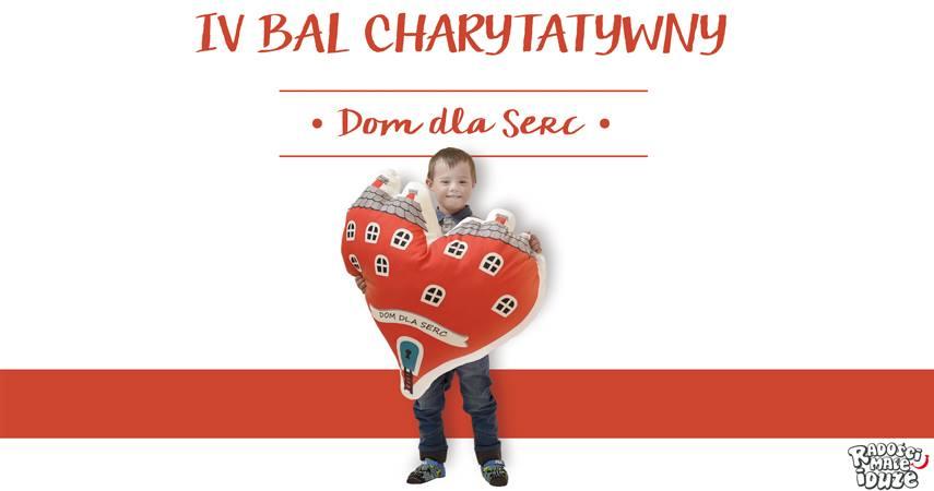 """IV Bal Charytatywny """"Dom dla Serc"""" już w sobotę – przyjść może każdy! [materiały organizatora]"""