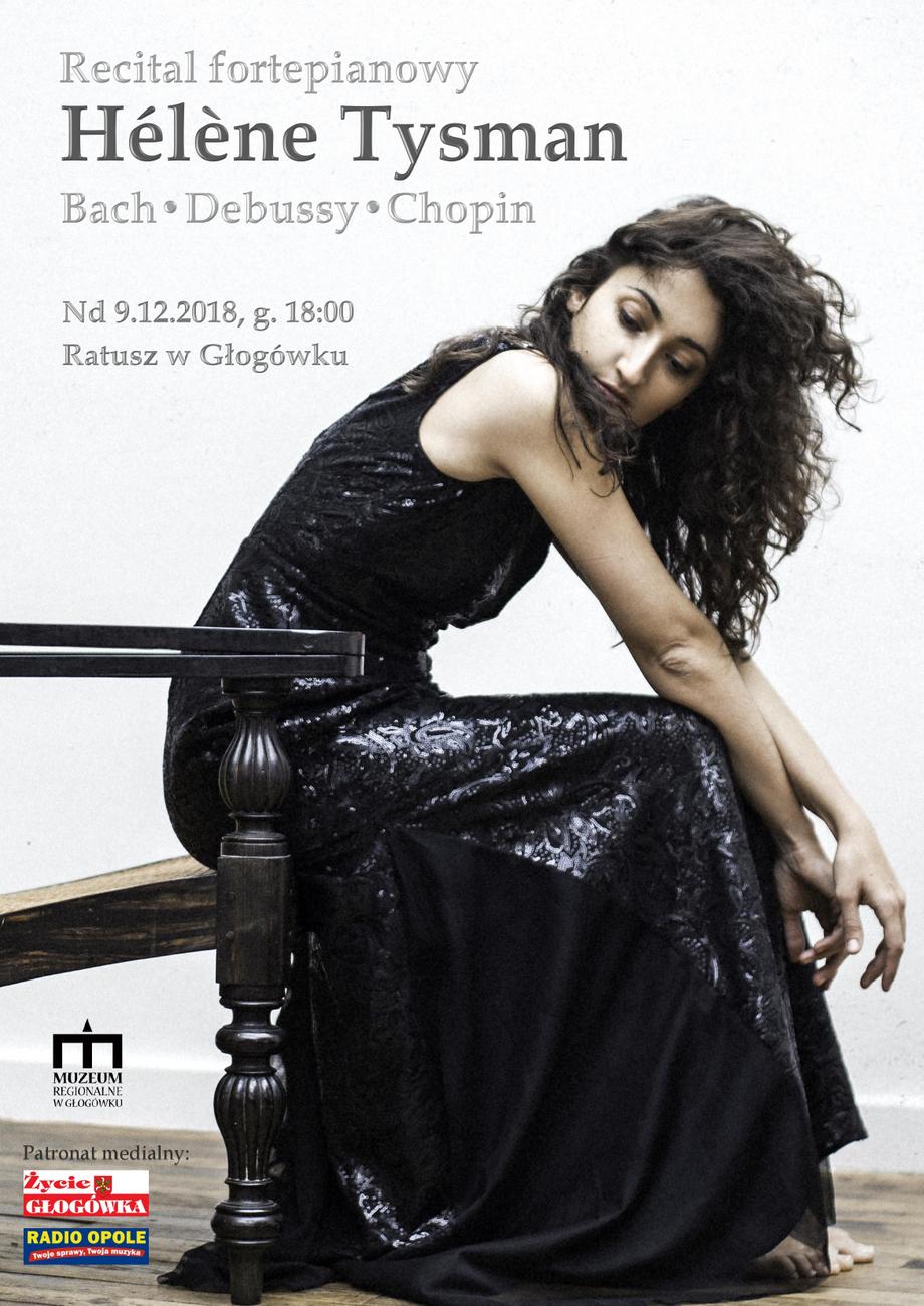 Recital fortepianowy Hélène Tysman już w niedzielę – poznaj szczegóły! [materiały organizatora]
