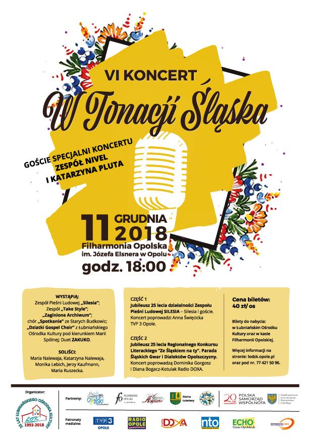 """Zbliża się VI koncert """"W tonacji Śląska"""" – poznaj szczegóły! [materiały organizatora]"""