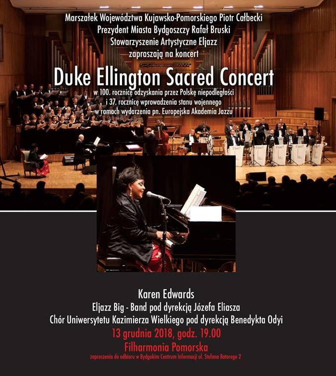 Uczta z muzyką Duke Ellingtona – transmisja 13 grudnia od godz. 19:00