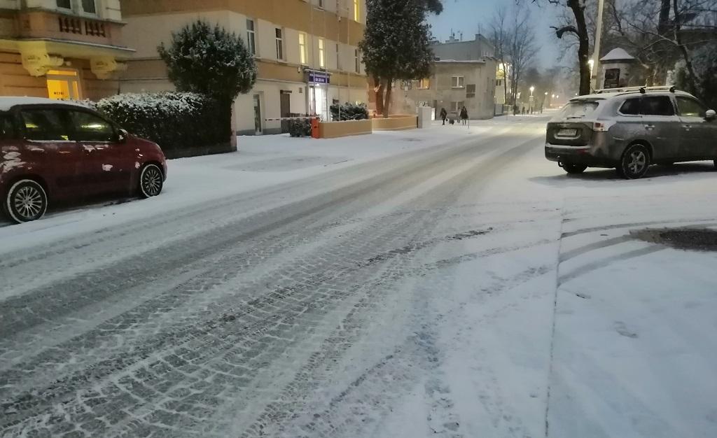 Ostrzeżenie meteorologiczne Na Opolszczyźnie w nocy może spaść śnieg