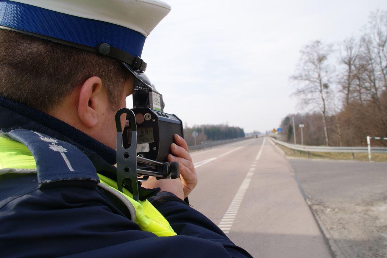 Kontrola prędkości [fot. policja]