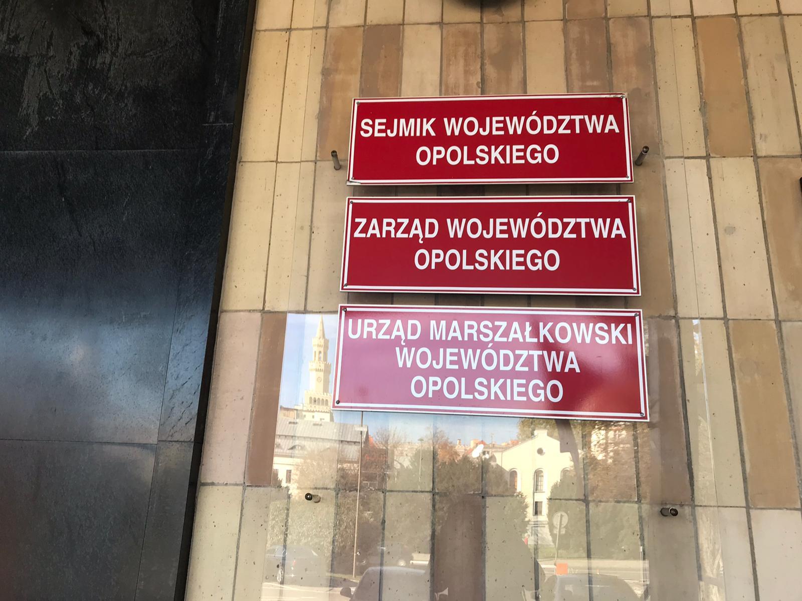 Urząd marszałkowski w Opolu [fot.M.Matuszkiewicz]