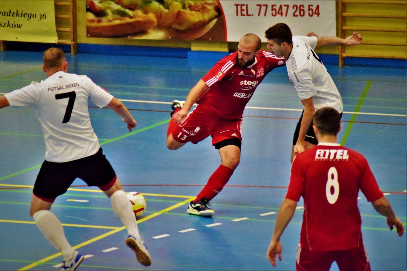 Berland Komprachcice - Gredar Futsal Team Brzeg [fot. Paweł Konieczny]