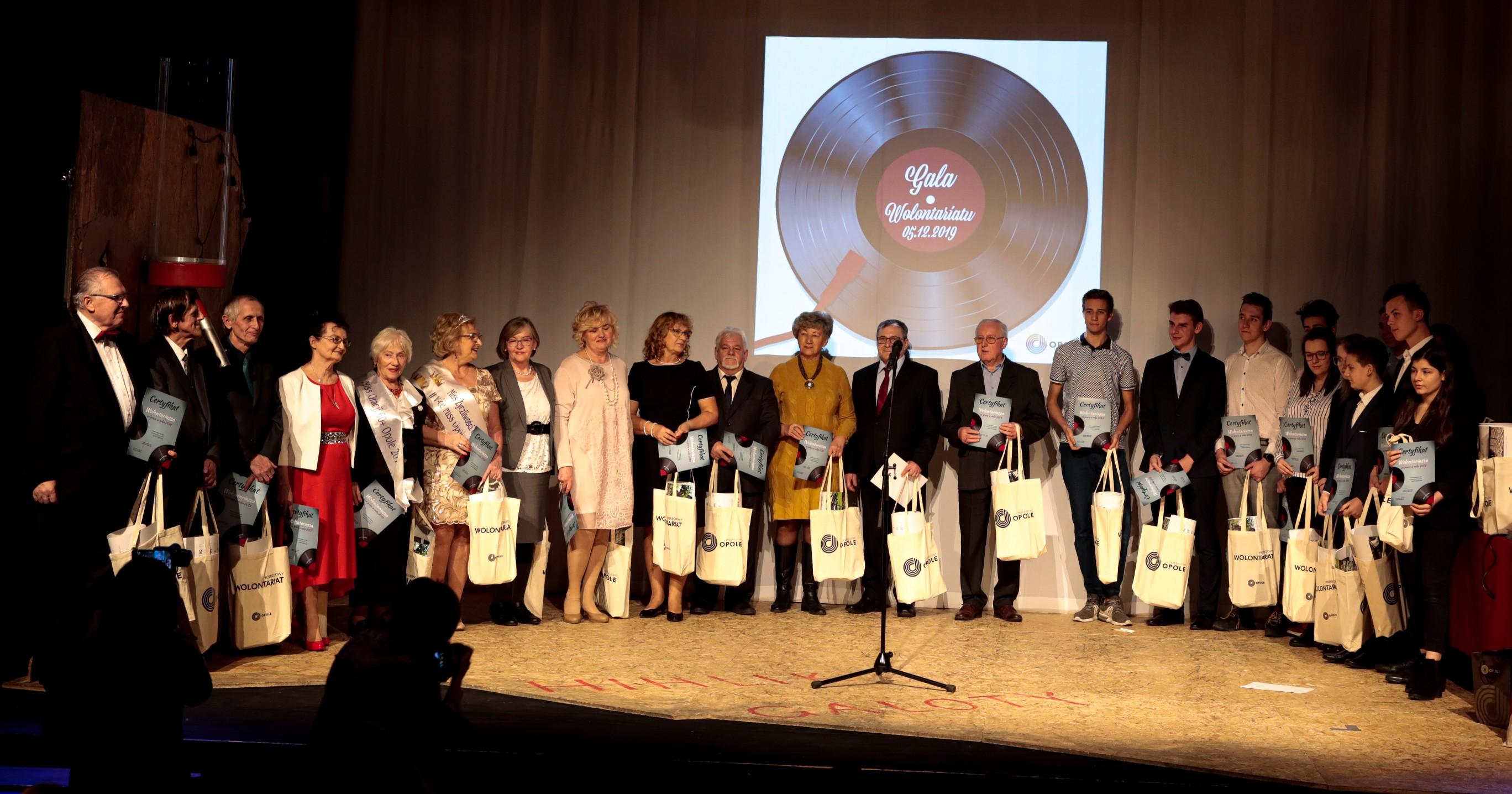 Opolscy wolontariusze nagrodzeni za swoją pracę