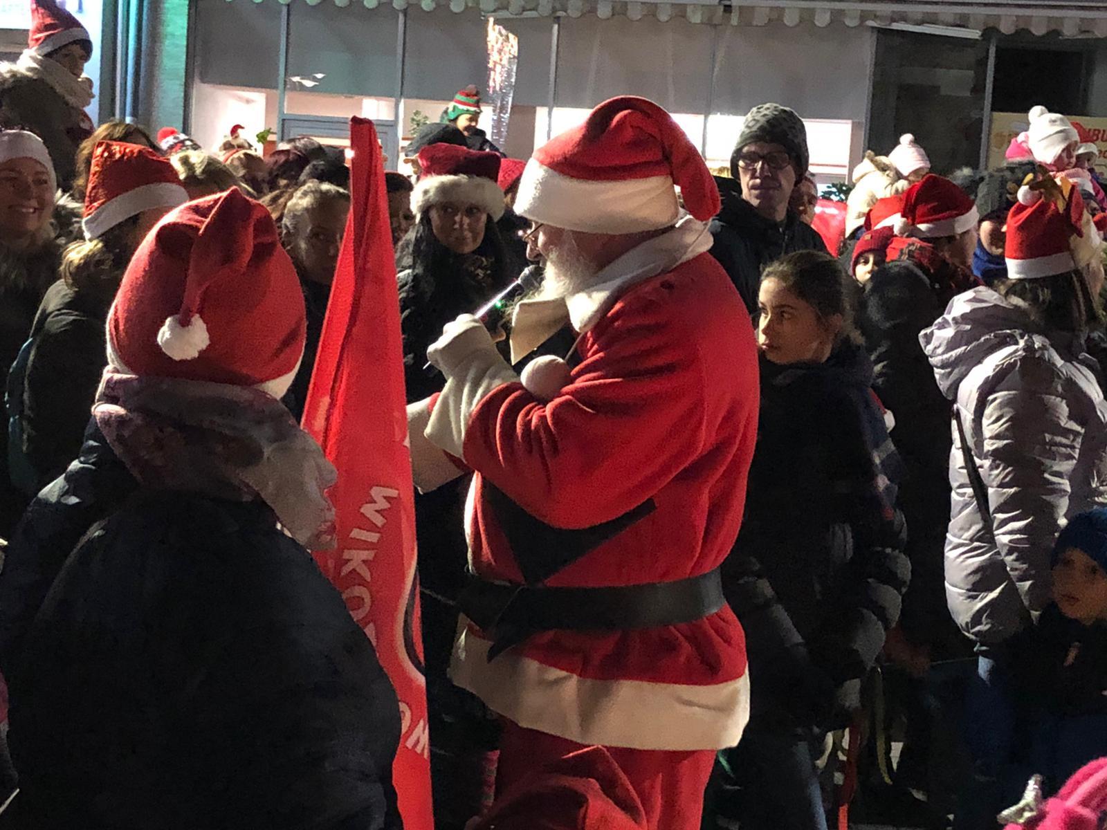 VI Marsz Mikołajów w Opolu [ fot. M. Matuszkiewicz]