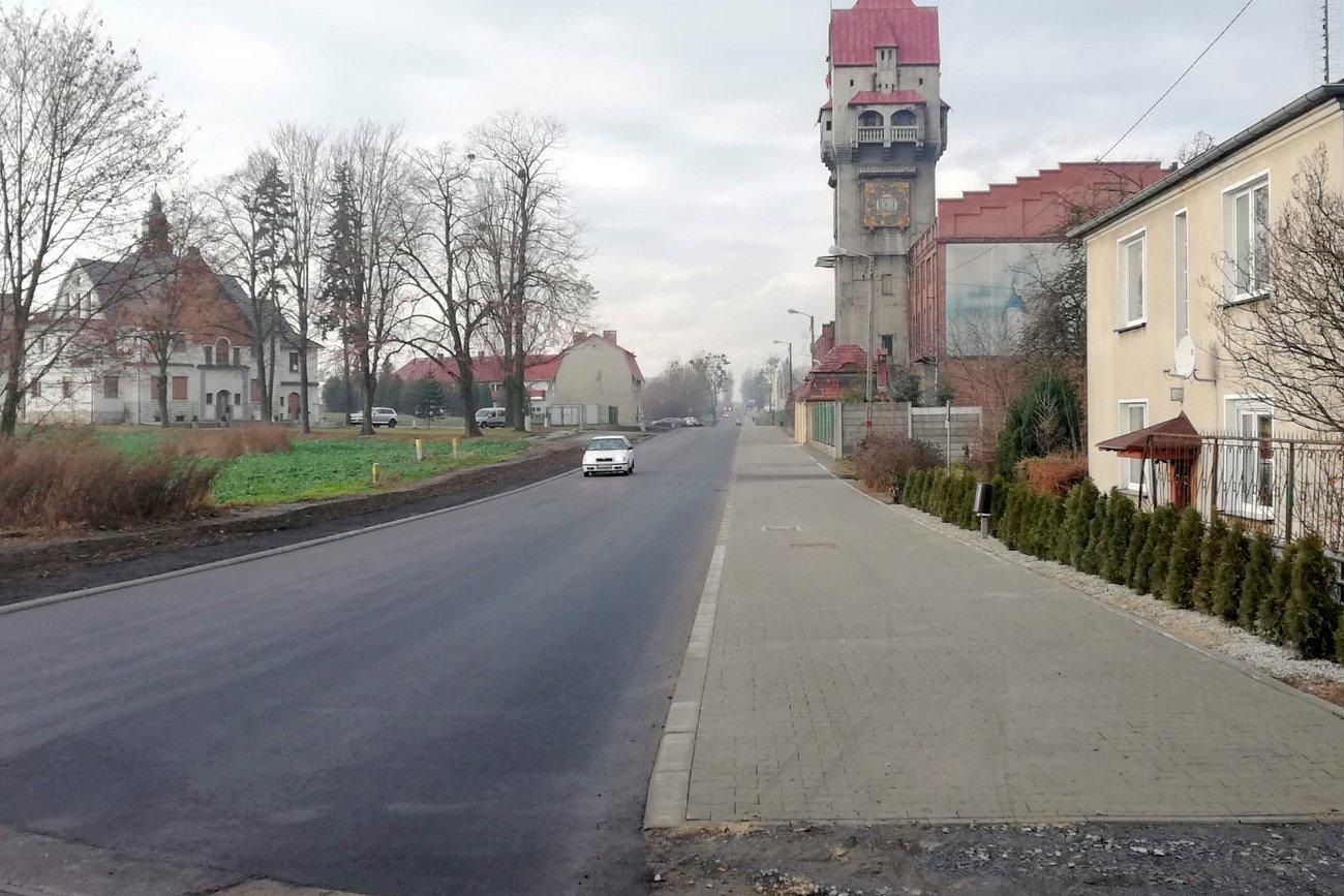 Krapkowice: ulica Opolska wyremontowana i otwarta dla ruchu