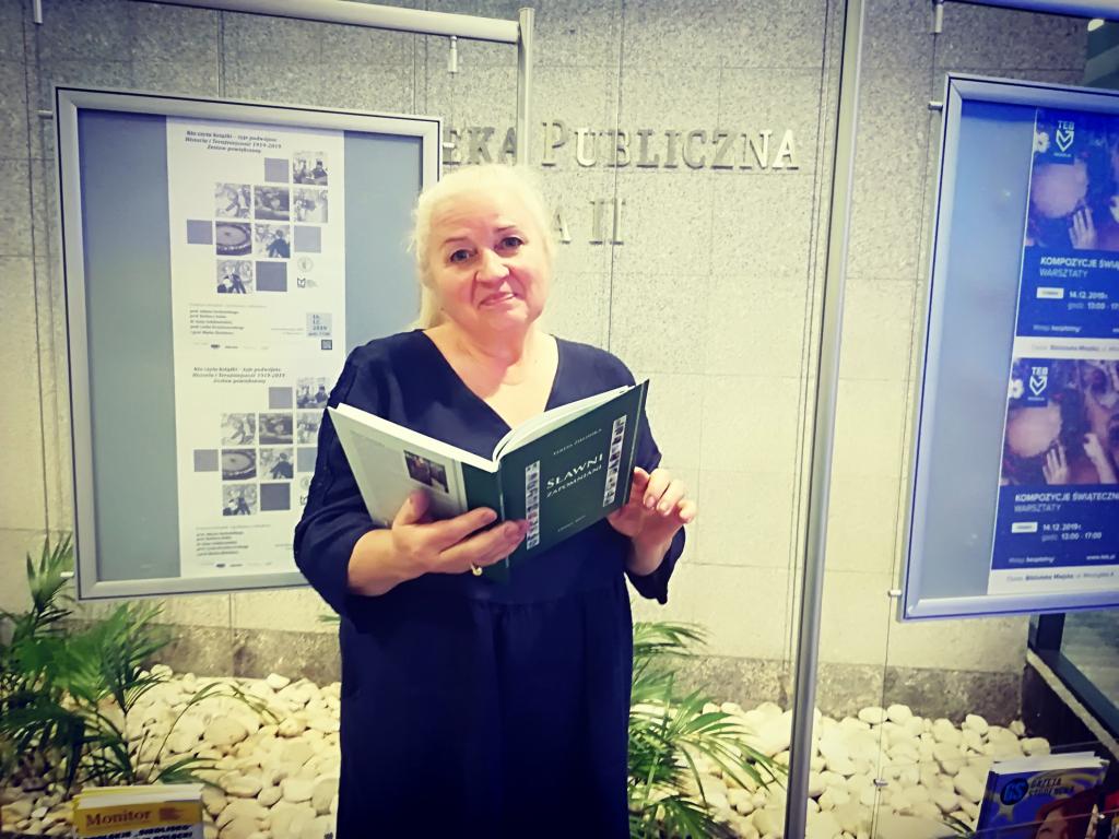Teresa Zielińska w Opolu [fot. Katarzyna Zawadzka]