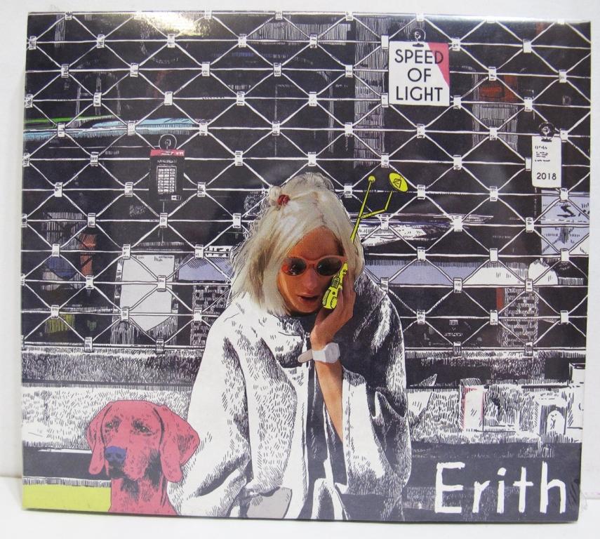 """Okładka debiutanckiej płyty Erith. Płyta nosi tytuł """"Speed of Light"""" [fot. materiały zespołu]"""