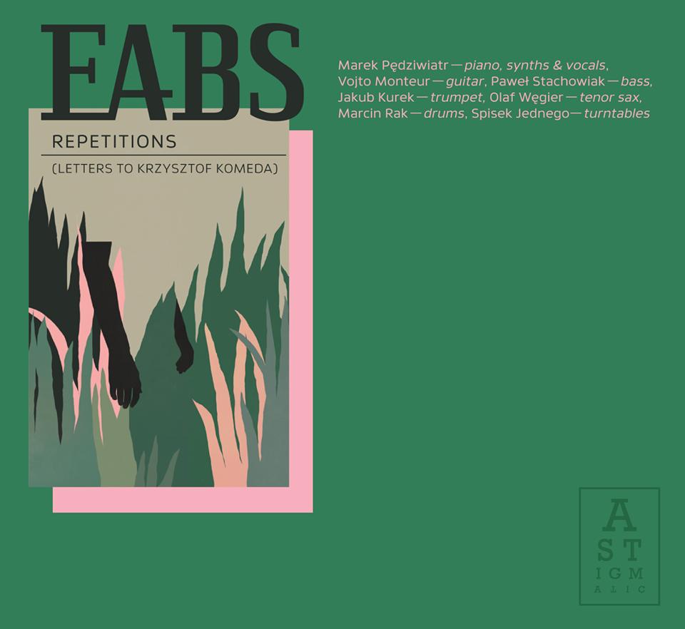 Oładka debiutanckiej płyty zespołu EABS zaprojektowana przez Natalia Łabędź [fot. archiwum zespołu]