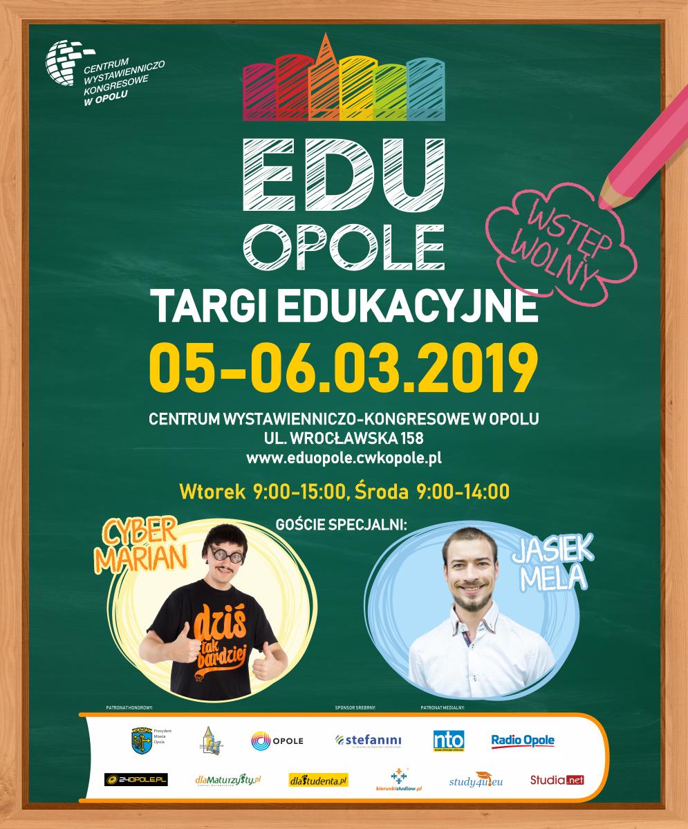 Największe w regionie Targi Edukacyjne Edu Opole 2019 od 5 do 6 marca w CWK