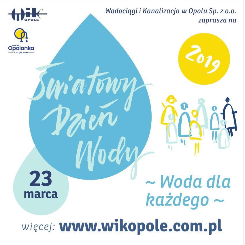 Obchody Światowego Dnia Wody w Opolu. Też tam będziemy!